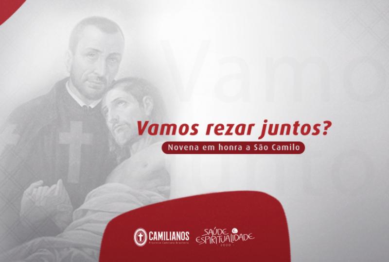 Novena em honra a São Camilo de Lellis 2020